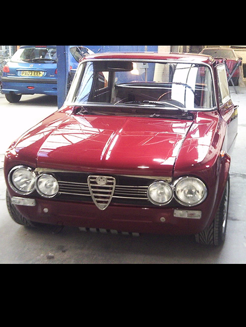 Classic Car Restoration Preston